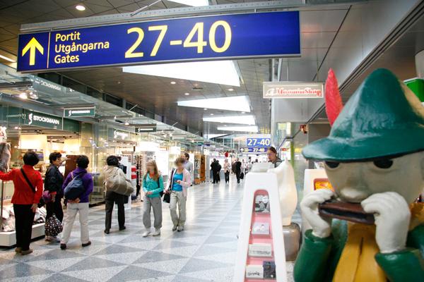helsinki moomin airport