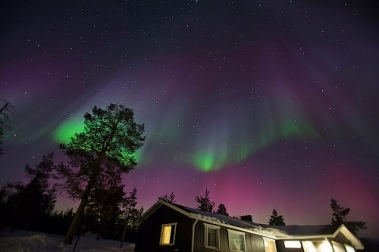 Northern Lights in Finland http://blog.mushroomtravel.com/2016/11/7.html